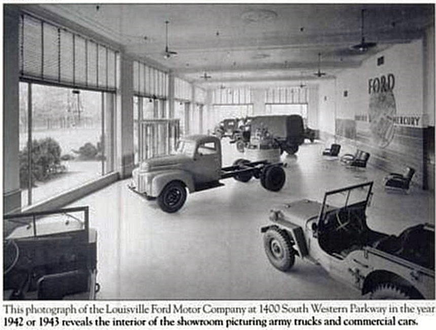 Ford Louisville Ky >> Ford Motor Co Historic Photos Of Louisville Kentucky And Environs